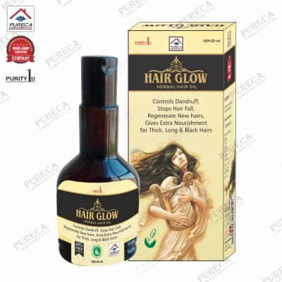 Hair Glow Herbal Hair Oil