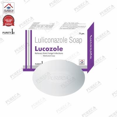 Lucozole Soap