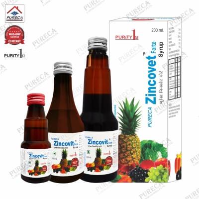 Pureca Zincovet Forte Syrup